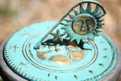 Old Sun Clock Dial - Vintage Sundial Royalty Free Stock Images
