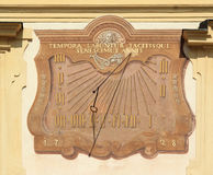 Old sundial Stock Photo