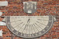Old sundial Stock Images
