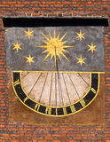 Old sundial Royalty Free Stock Photos