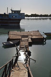 Old sunken berth Royalty Free Stock Photos