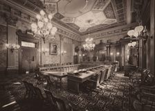 Old Supreme Court. In the Michigan State Capitol at 100 N Capitol Avenue in Lansing, Michigan Stock Images