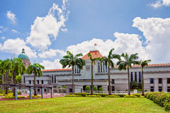 Old Supreme Court and Parliament Building in Singapore Stock Photos