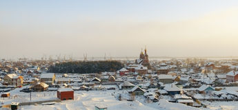 Old Surgut Royalty Free Stock Image