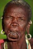 Old Suri woman Royalty Free Stock Photo