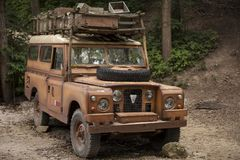 Old SUV Royalty Free Stock Images