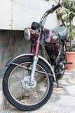 Old Suzuki motorcycle royalty free stock photography