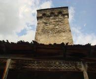 Old Svan tower Stock Image