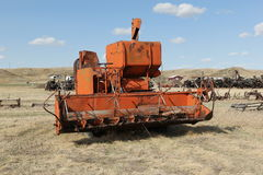 Old swather royalty free stock images