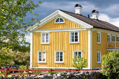 Old swedish farmhouse Stock Photo