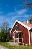 Old Swedish house. In roslagen Royalty Free Stock Photos