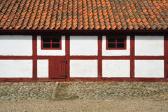 Old Swedish house Stock Images