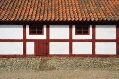Old Swedish house Stock Images