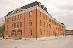 Old swedish military building Stock Images