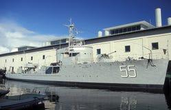 Old Swedish minesweeper HMS Bremon Royalty Free Stock Photo
