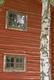 Old swedish wooden house Stock Photography