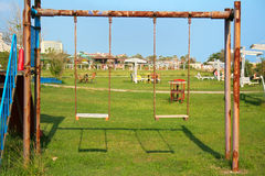 Old swing Stock Photo