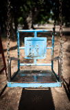 Old swing Stock Images