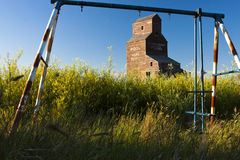 Old Swing Set Royalty Free Stock Images