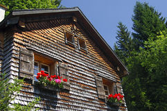 Old Swiss chalet Royalty Free Stock Photo