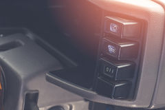 old switch of the car Stock Photography