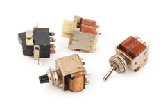 Old switches Stock Images