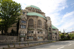 Old synagogue of Essen Stock Image