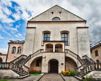Old Synagogue Izaaka in Kazimierz. District of Krakow, Poland Royalty Free Stock Image