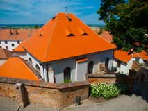 Old Synagogue in Mikulov Stock Images