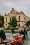 The old synagogue in Pecs Royalty Free Stock Photo