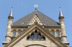 Old Synagogue at Roonstrasse, Cologne royalty free stock image