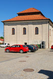 The old synagogue in Sandomierz, Poland Royalty Free Stock Images