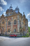 Old Synagogue in Timisoara, Romania Stock Photo