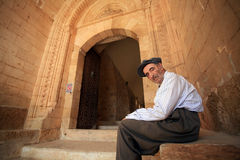 Old Syriac Man Royalty Free Stock Photo