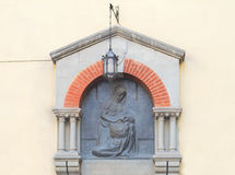 Old tabernacle in Florence Royalty Free Stock Image