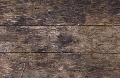 Old table from boards Royalty Free Stock Photography