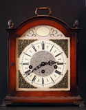 Old table clock Stock Photos