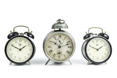 Old Table Clocks Stock Images
