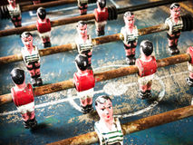 Free Old Table Soccer Game Royalty Free Stock Photography - 28409687
