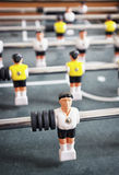 Old table soccer game Stock Image