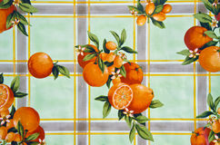 Old tablecloth background Stock Image