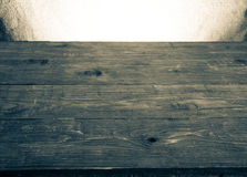 Old tabletop and background from a sacking. horizontal picture Royalty Free Stock Photos