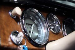 Old Tachometer Stock Images