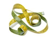 Old tailor's measuring tape Royalty Free Stock Image