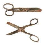 Old tailoring scissors Royalty Free Stock Photo