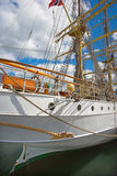 Old tall sailing boat Royalty Free Stock Images