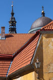Old Tallinn architecture fragment Royalty Free Stock Photography