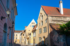 Old Tallinn. Estonia Royalty Free Stock Photos