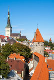 Old Tallinn. Estonia Royalty Free Stock Photo