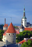 Old Tallinn Stock Photos